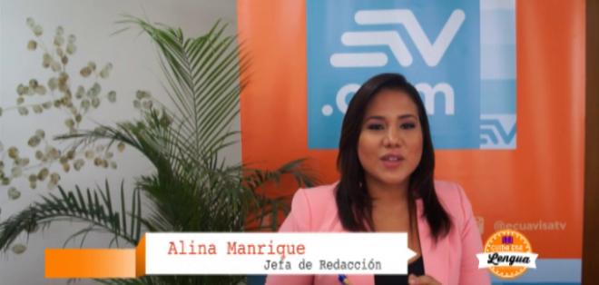 ECUADOR. En esta entrega Alina Manrique abordará el correcto uso del adverbio donde. Foto: Ecuavisa