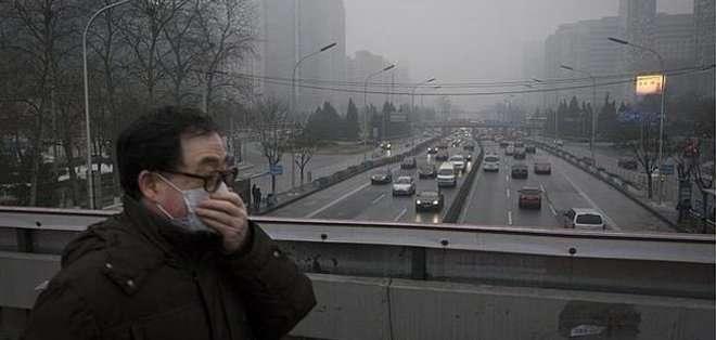 CHINA. El informe revela que la media de las emisiones de dióxido de nitrógeno también excede los estándares.