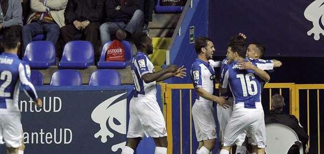Caicedo anotó un tanto. Foto: EFE.
