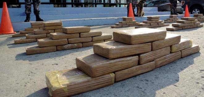 ESMERALDAS.- Se desconoce aún la cantidad exacta del cargamento de droga. Foto: Archivo Ecuavisa.com