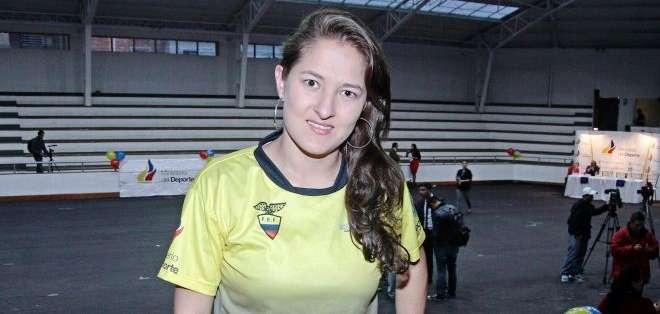Melanie Gutiérrez del equipo de ESPUCE (Foto: API)