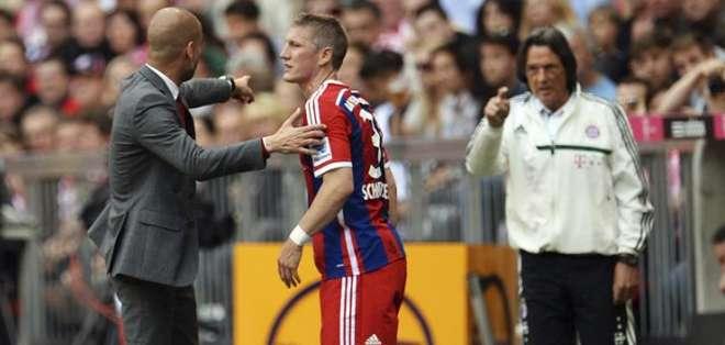 El DT y el médico han tenido algunos desacuerdos. Foto: EFE.