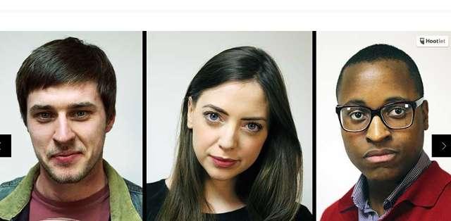 """""""Twin Strangers"""" es un proyecto que busca encontrar a sus dobles usando las redes sociales. Foto: Twinstranger.com"""