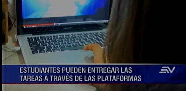 GUAYAQUIL.- La entidad revela que el 26,1% de ecuatorianos tiene acceso a internet.  Fotos: Captura.