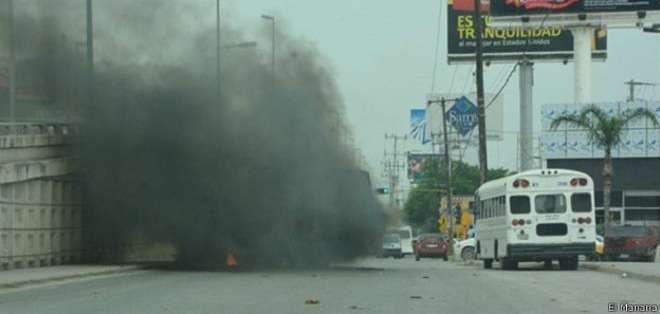 La ciudad fronteriza de Reynosa fue escenario de violentos enfrentamientos este viernes. (Imagen cortesía de El Mañana)
