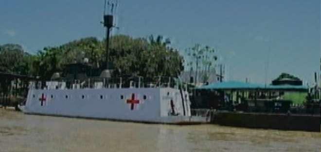 ECUADOR. El hecho fue atribuido al frente 48 de las FARC, mientras se intentaba realizar la campaña médica internacional. Foto: captura
