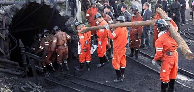CHINA. Se calcula que cada año mueren miles de trabajadores en las minas chinas. Fotos: Archivo