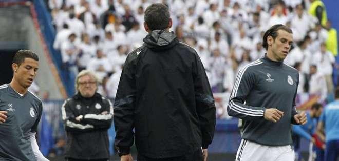 Bale no actuará ante el Atlético de Madrid. Foto: EFE.