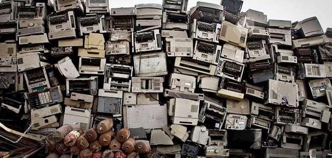 Cada habitante del planeta generará una media de 6,7 kilogramos de basura electrónica al año.