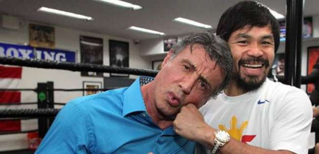 Manny vs Rocky.