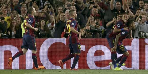 Los españoles celebraron en la Champions. Foto: EFE.