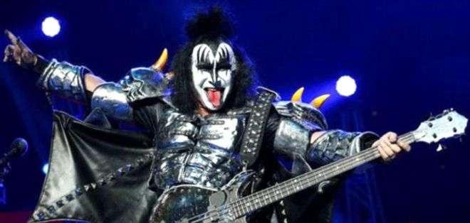 Gene Simmons es el cerebro financiero de Kiss.