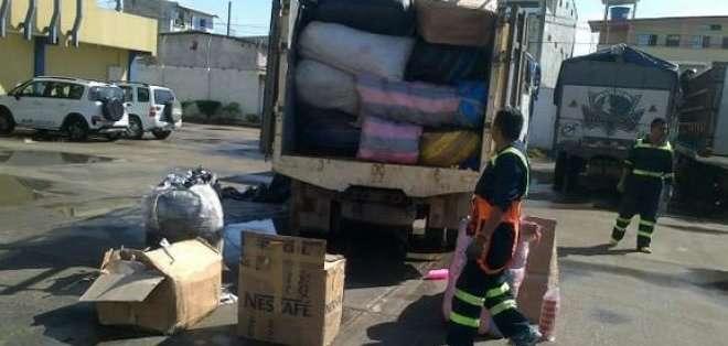 Las Fuerzas Armadas, conjuntamente con la Aduana del Ecuador, incrementaron los operativos de control en la frontera con Colombia para frenar el contrabando de mercadería.