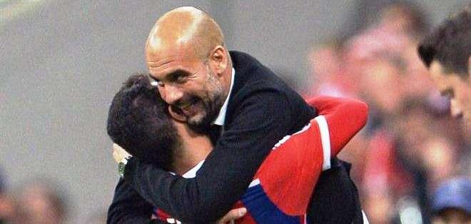 Guardiola, la clave de este equipo alemán (Foto: EFE)