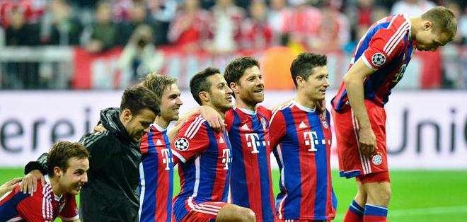 Bayern Múnich, y una goleada espectacular en la Liga de Campeones (Foto: EFE)