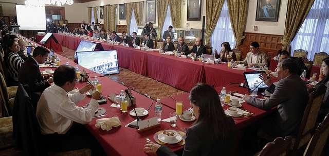 QUITO.- La próxima reunión con el presidente Correa será el 23 de octubre.  Fotos: Flickr Presidencia Ecuador