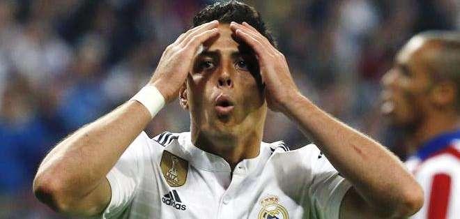 Javier 'Chicharito' Hernández, la estrella del triunfo del Real Madrid (Foto: EFE)