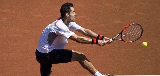 Giraldo perdió en el torneo de Brasil (Foto: EFE)