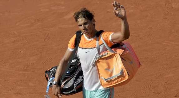 Nadal le dijo adiós al ATP de Barcelona. Foto: AFP.