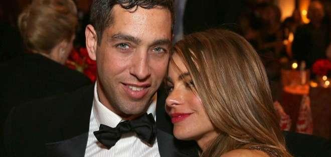 Lejos quedan los días en los que Sofía Vergara y Nick Loeb se presentaban así en público.
