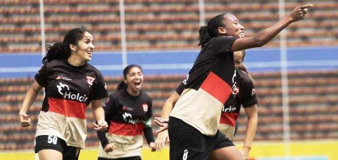 Rocafuerte, uno de los equipos favoritos a ganar en el fútbol femenino (Foto: API)