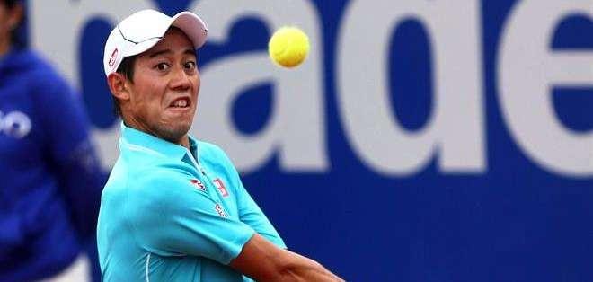 Nishikori, está cerca de llegar al cuarto lugar del ATP (Foto: EFE)