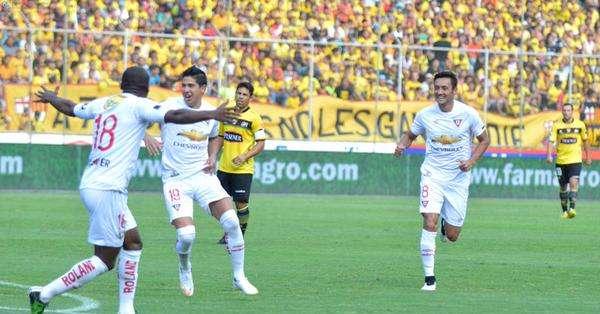 Diego Morales anotó el único gol del encuentro. Foto: API.