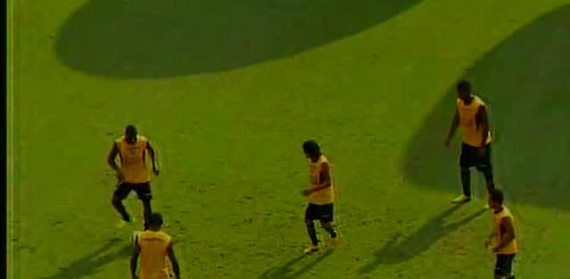 GUAYAQUIL.- Tales maniobras afectarían el rendimiento del equipo canario en los últimos partidos.  Fotos: Captura Video