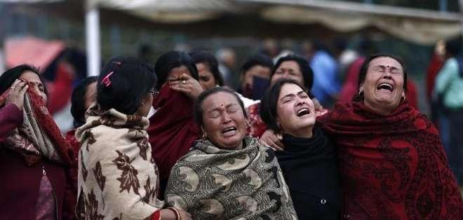 El terremoto de Nepal, que ha causado más de 4.000 muertos y millares de heridos en ese país, provocó la muerte de al menos 25 personas en el Tíbet. Fotos: EFE