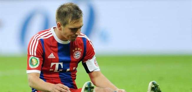 Lahm no podrá celebrar otro título de Copa. Foto: EFE.