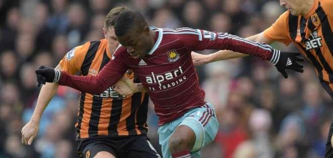 Valencia ha tenido destacadas actuaciones con el West Ham.
