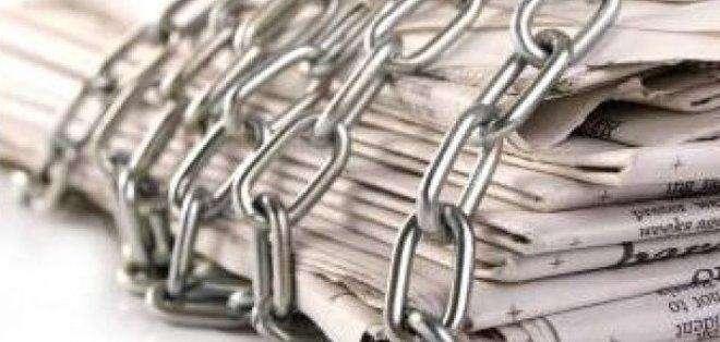 """EE.UU.- """"Los periodistas enfrentan presiones de todos los lados"""", explicó el informe de la organización.  Foto: Archivo Ecuavisa.com"""