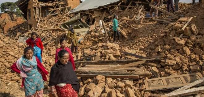 Casi 52.500 personas se han visto desplazadas por esta catástrofe que derrumbó más de 2.500 casas.