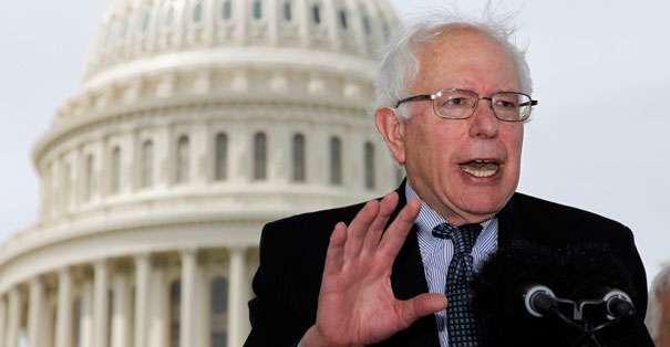 EE.UU.- Sanders explicó que el sistema económico sólo funciona para las familias más ricas de EE.UU. Foto: Web