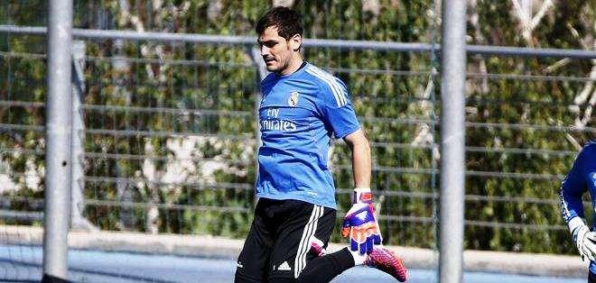 Iker Casillas, arquero del Real Madrid (Foto: EFE)