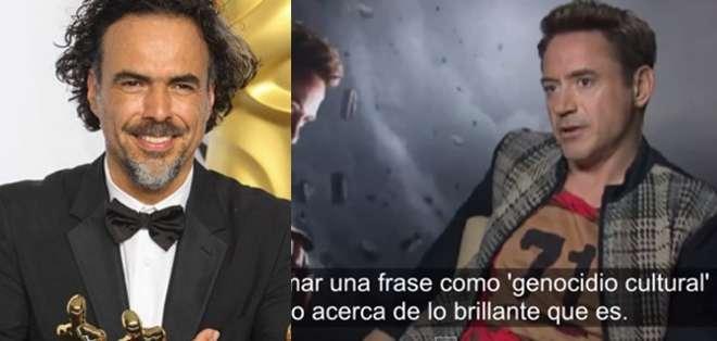 El actor dijo además que respetaba mucho el trabajo del director mexicano.