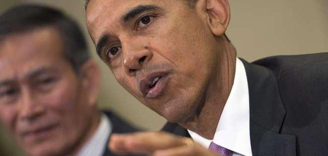 """EE. UU.- Obama sostuvo que debe """"hacerse justicia"""" por la muerte de Gray. Foto: EFE"""