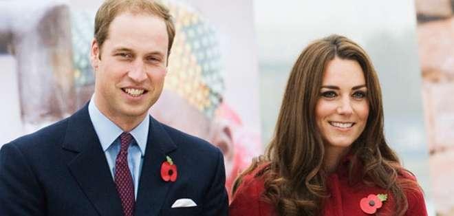 El príncipe William y Kate Middleton no se han pronunciado al respecto. Foto: Archivo
