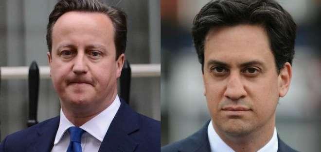 No hay duda de que el próximo primer ministro será el laborista Ed Miliband o el conservador David Cameron.
