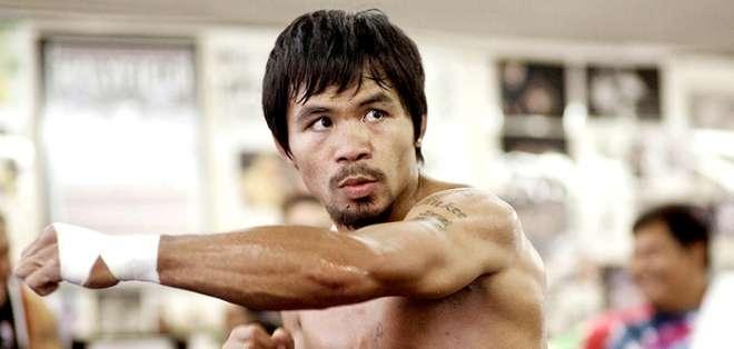 EE.UU.- El boxeador  tiene un desgarro del manguito rotador. Fotos: Web.