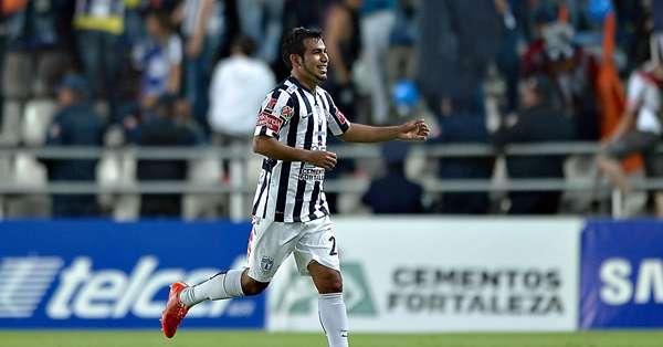 Sornoza cantó su primer gol en México. Foto: Mediotiempo.com.