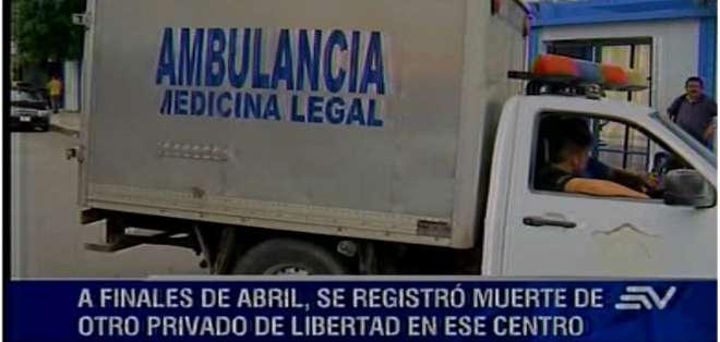 GUAYAQUIL.- La Fiscalía investiga la muerte de una persona privada de libertad, en la regional Guayas.  Fotos: Captura Video