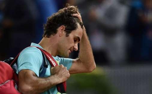 La eliminación de Federer es la primera gran sorpresa del torneo. Foto: AFP.