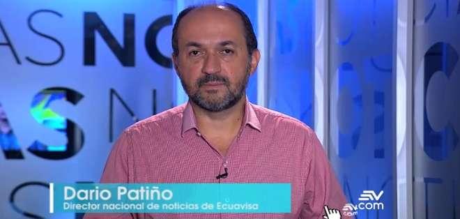 GUAYAQUIL.- En esta semana el director de Noticias de Ecuavisa, Darío Patiño, se refiere a la situación de la prensa en Latinoamérica. Foto: Captura.