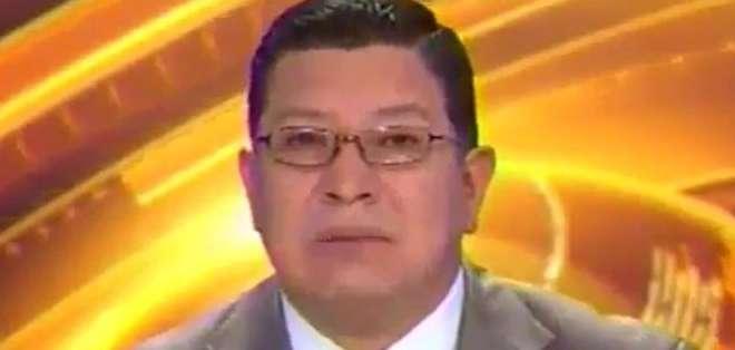 ECUADOR.- Pablo Serrano durante su entrevista en Contacto Directo. Foto: Ecuavisa