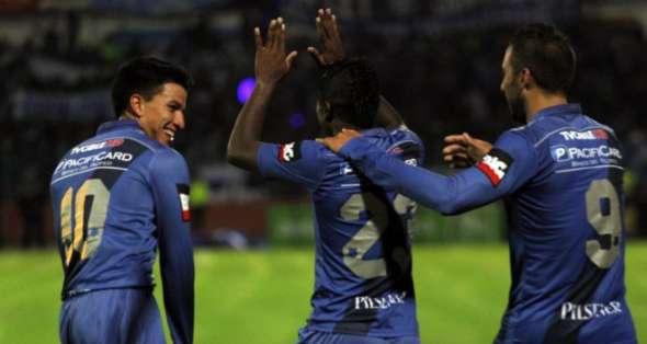 Emelec es el único equipo ecuatoriano en Copa.