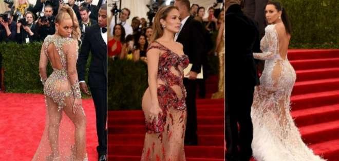 El atrevimiento ha sido el rasgo en común de la mayoría de estilismos que han desfilado en esta edición del Met Gala.
