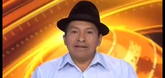 ECUADOR.- Jorge Herrera durante su entrevista en Contacto Directo. Foto: Ecuavisa