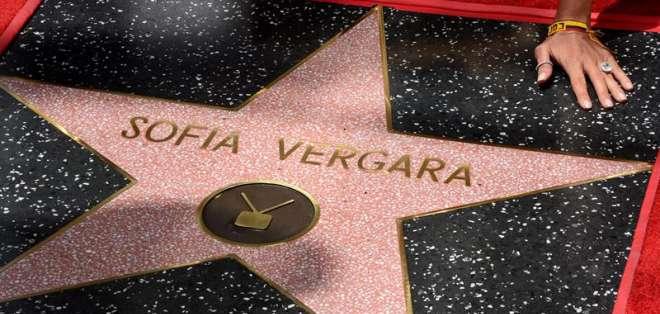 Vergara, de 42 años, se convirtió en el primera actriz de su país en recibir el reconocimiento. Fotos: EFE
