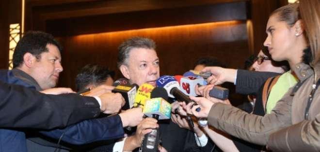 COLOMBIA.- El mandatario colombiano condenó el ataque al soldado.